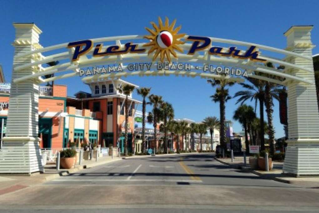 what to do in Panama City Beach - head to Pier Park