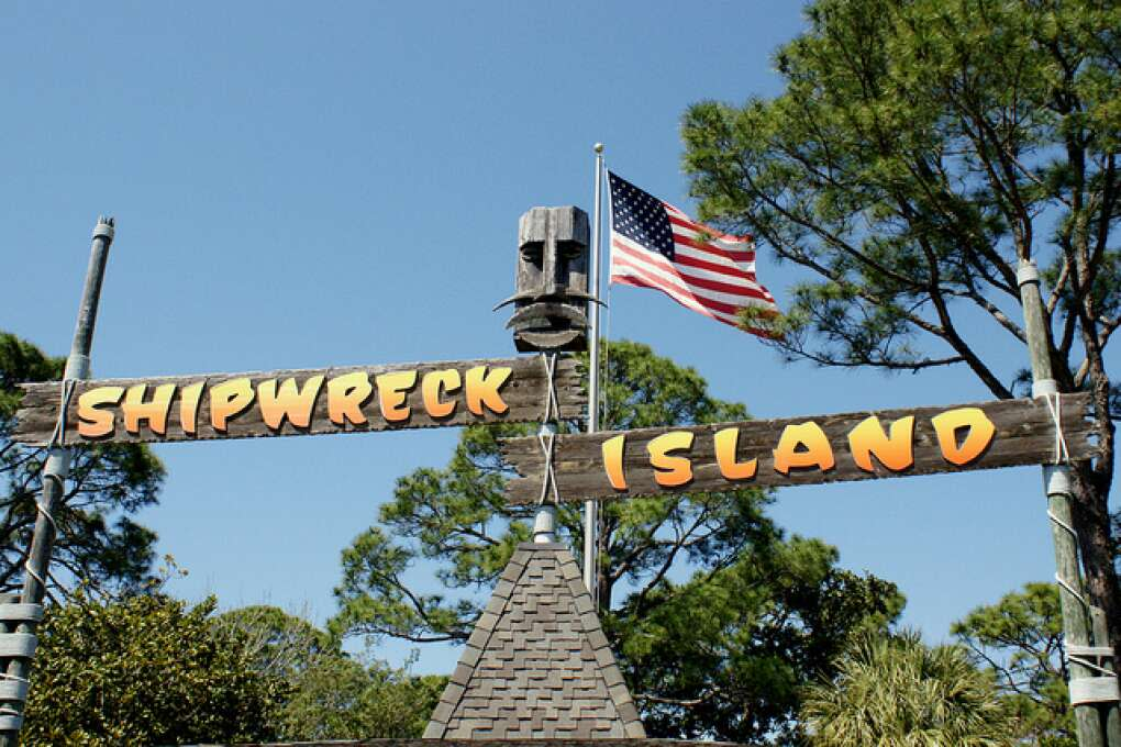 what to do in Panama City Beach - Shipwreck Island
