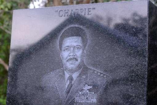 Chappie James Memorial Plaza in Pensacola