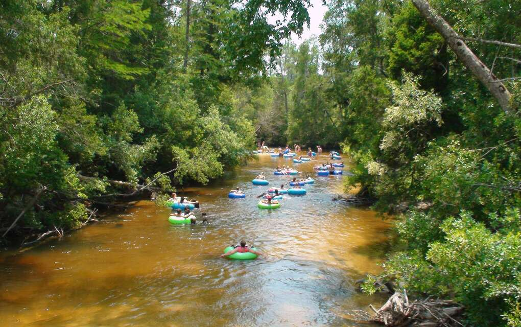 tubing on Coldwater Creek
