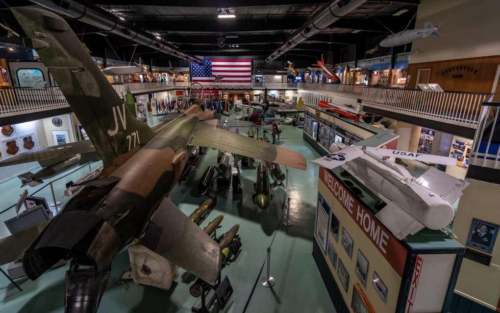Fort Walton Beach, Air Force Armament Museum, cool displays