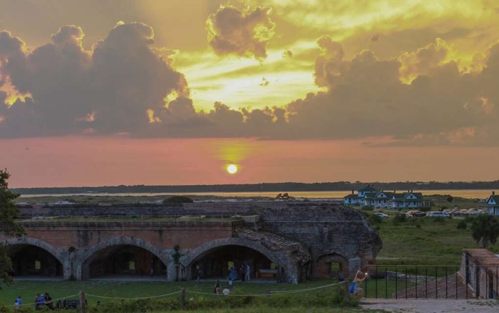 Explore Fort Pickens in the Gulf Islands National Seashore then cool off at the beach.