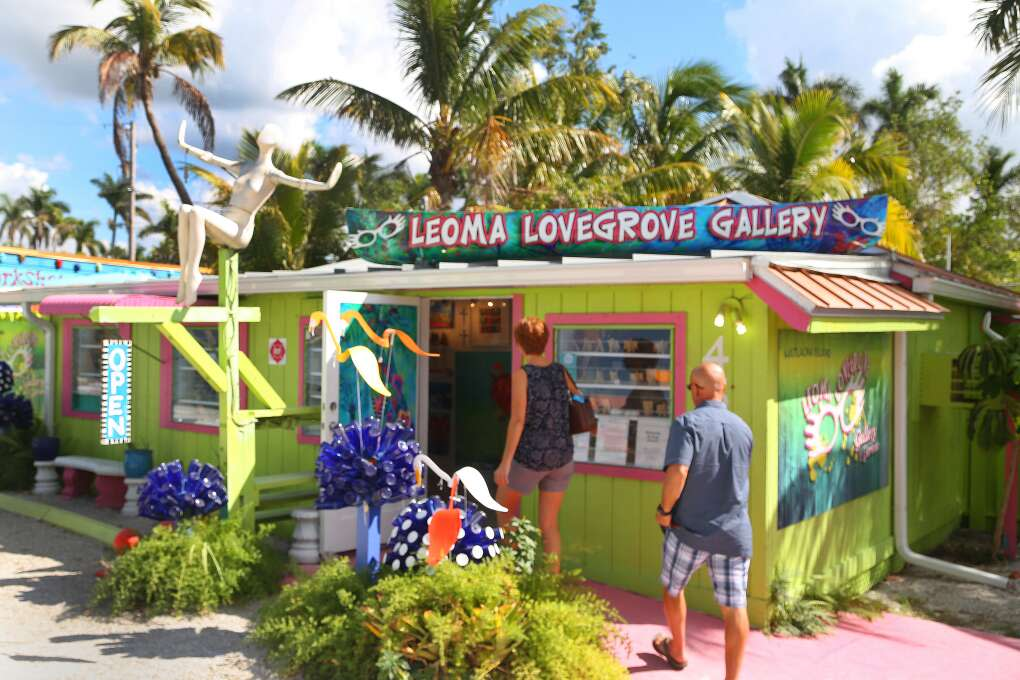The Wild Child Art Gallery is but one of several galleries in Matlacha.