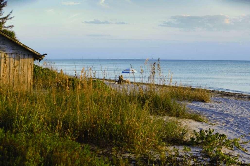 Siesta Key South of Sarasota and Bradenton Beach
