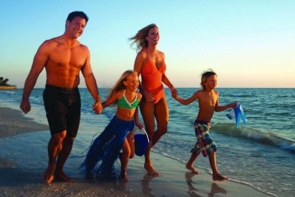 Siesta Beach with the Family