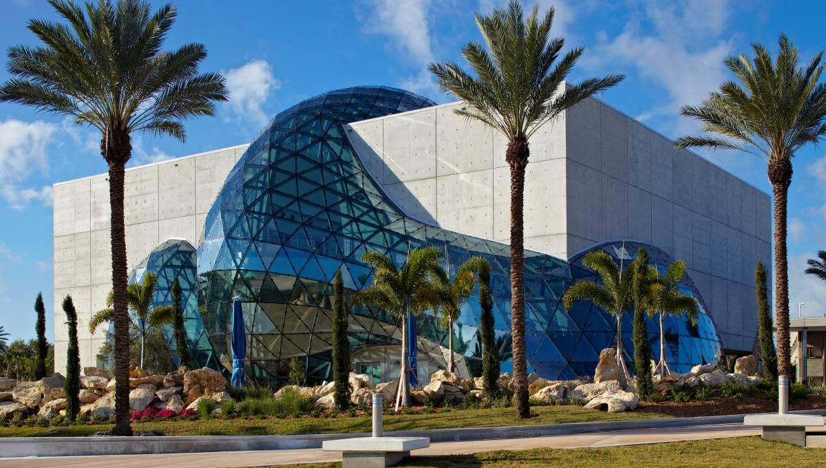 During Arts Alive, Pinellas County residents get free admission to the Dali Museum. All other guests will receive a coupon for a free return visit.