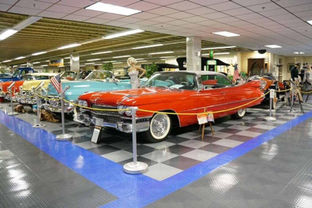 Classic cars at the Tallahassee Automobile & Collectibles Museum