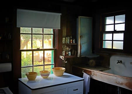 The kitchen of the house of the poet Laura Riding Jackson