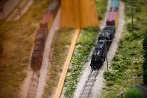 Miniature Replica of Vero Beach Old Train