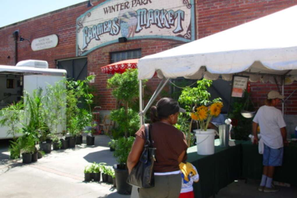 Classes take place inside the Winter Park Farmers' Market building every Tuesday evening.