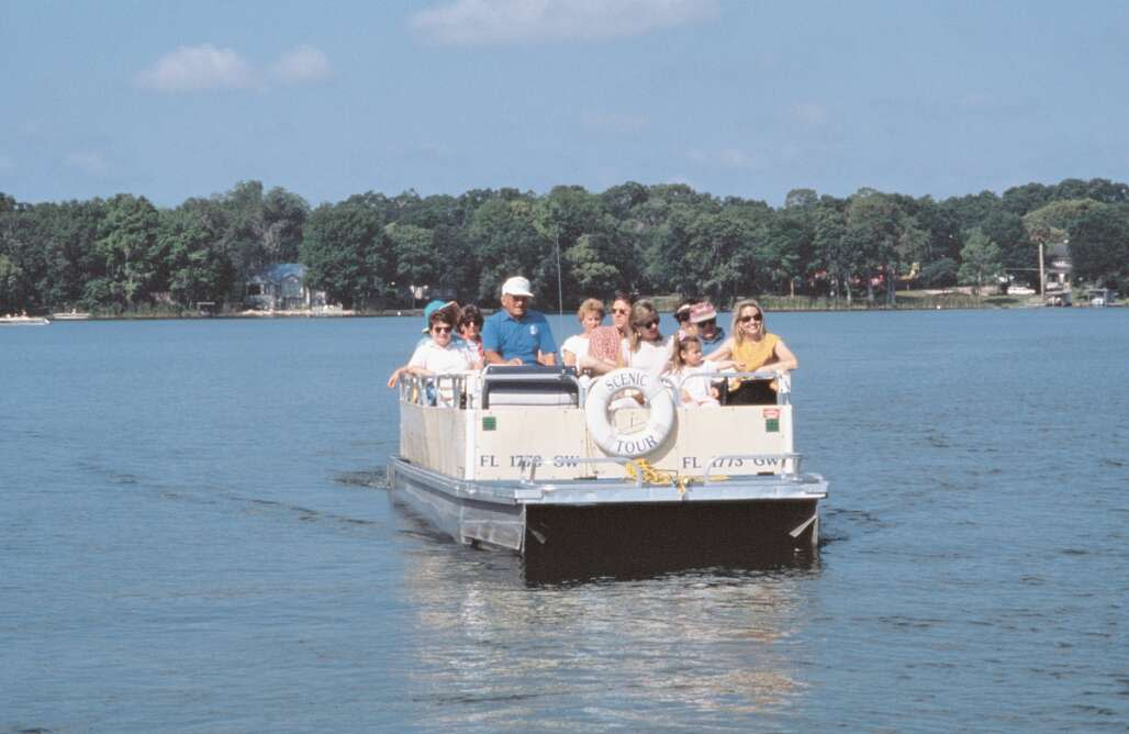 Get a unique perspective on the sights of Central Florida's oldest community on a scenic boat tour of Winter Park.