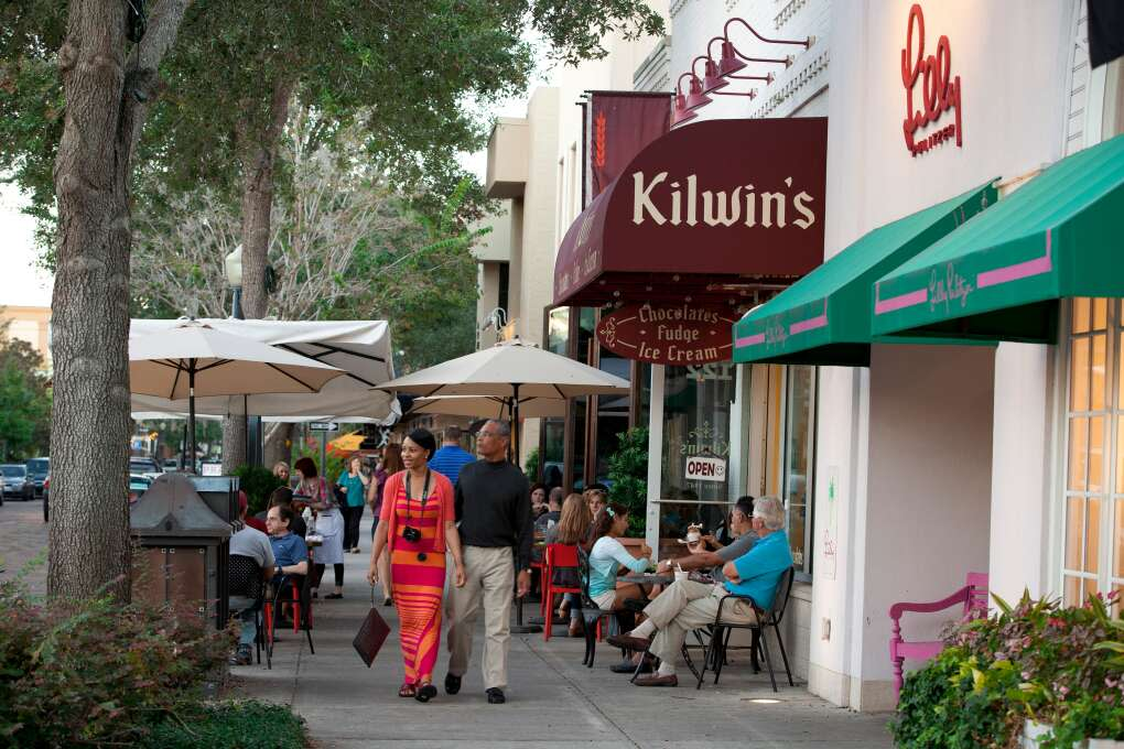 Winter Park, just minutes from downtown Orlando, makes for the perfect day trip.