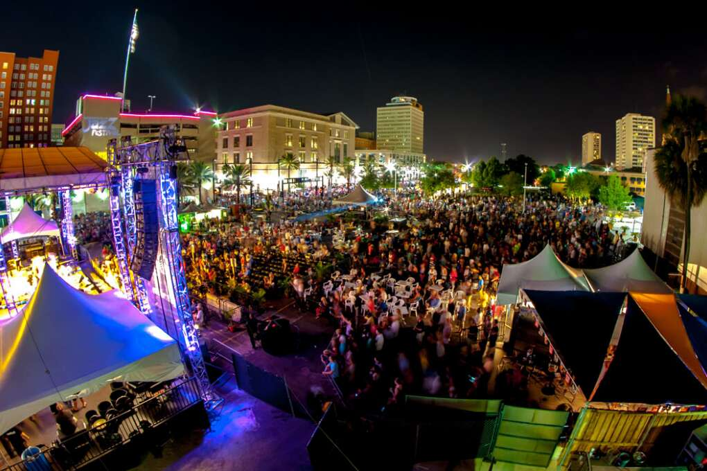 Scatting, trombone solos and improv are all the rage during the Jacksonville Jazz Festival, an annual free music festival that showcases three days of live music on three stages.