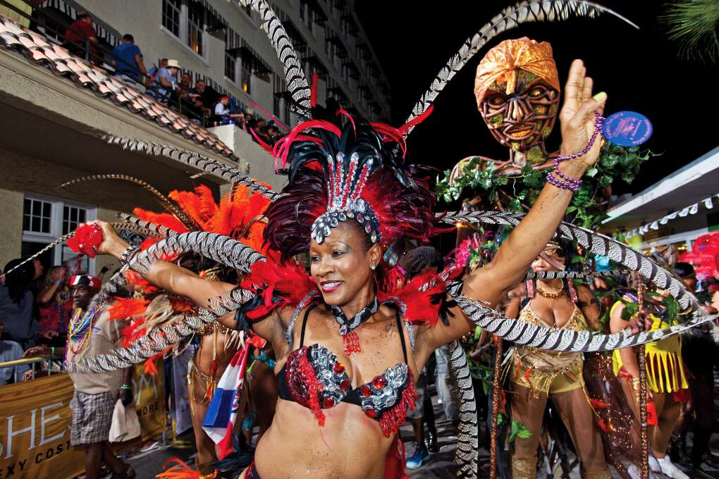 – Leave the young ones at home and head for Key West for this Fantasy Fest, a non-stop, adult-themed mega-party, featuring lavish floats, parades, costume competitions, street fairs and island bands.