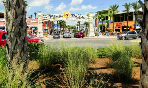 Pier Park, in Panama City Beach, is home to a plethora of shops and eateries, including the newly-added Dave & Buster's, a popular dining and video arcade chain.