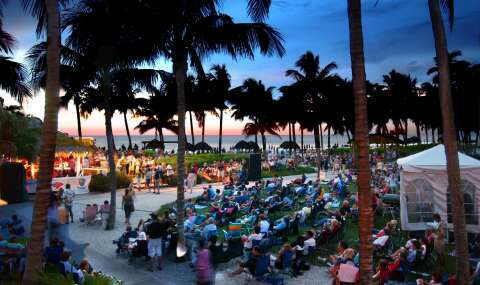 SummerJazz on the Gulf, at The Naples Beach Hotel, paints a soul soothing picture.