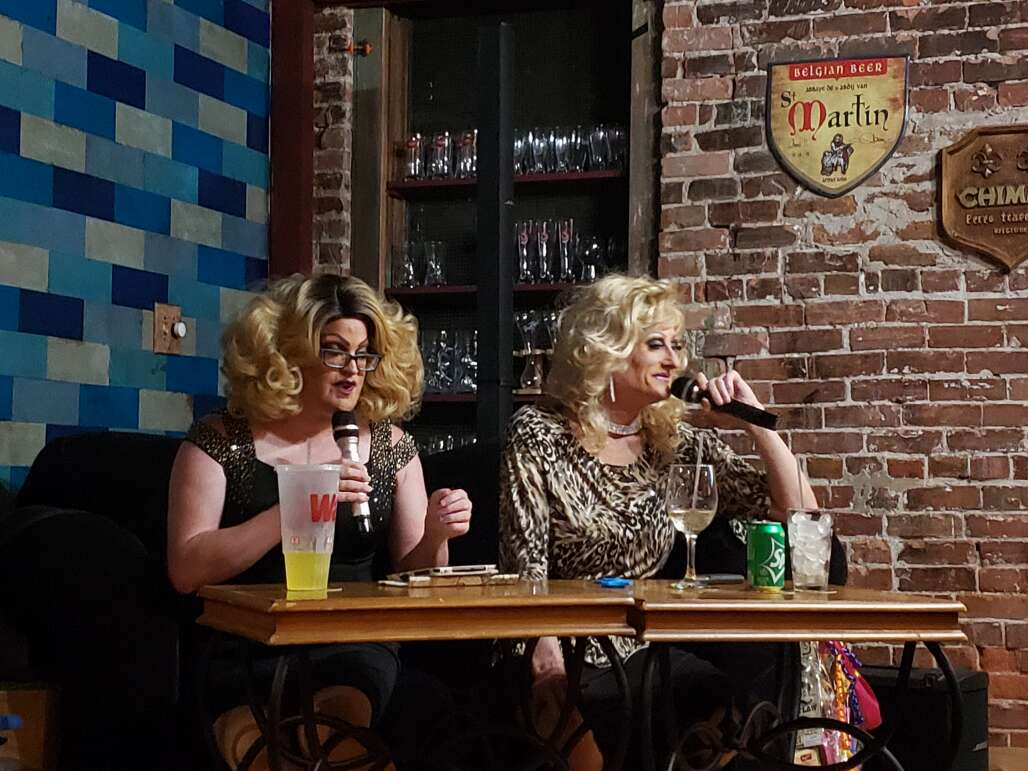 """There's always something happening at the Abbey Bar in DeLand, close to Daytona Beach. Expect regular pride nights, """"Love Is Love"""" street parties, drag shows and more."""
