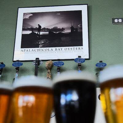 This flight of beer from Oyster City is sure to quench your thirst.