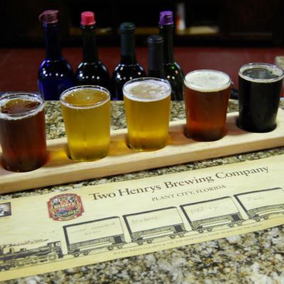You'll find award-winning beer, cider & wine at Two Henrys Brewing