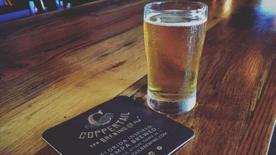 Find great beer in Tampa at Coppertail