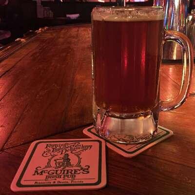 McGuires Beer glass