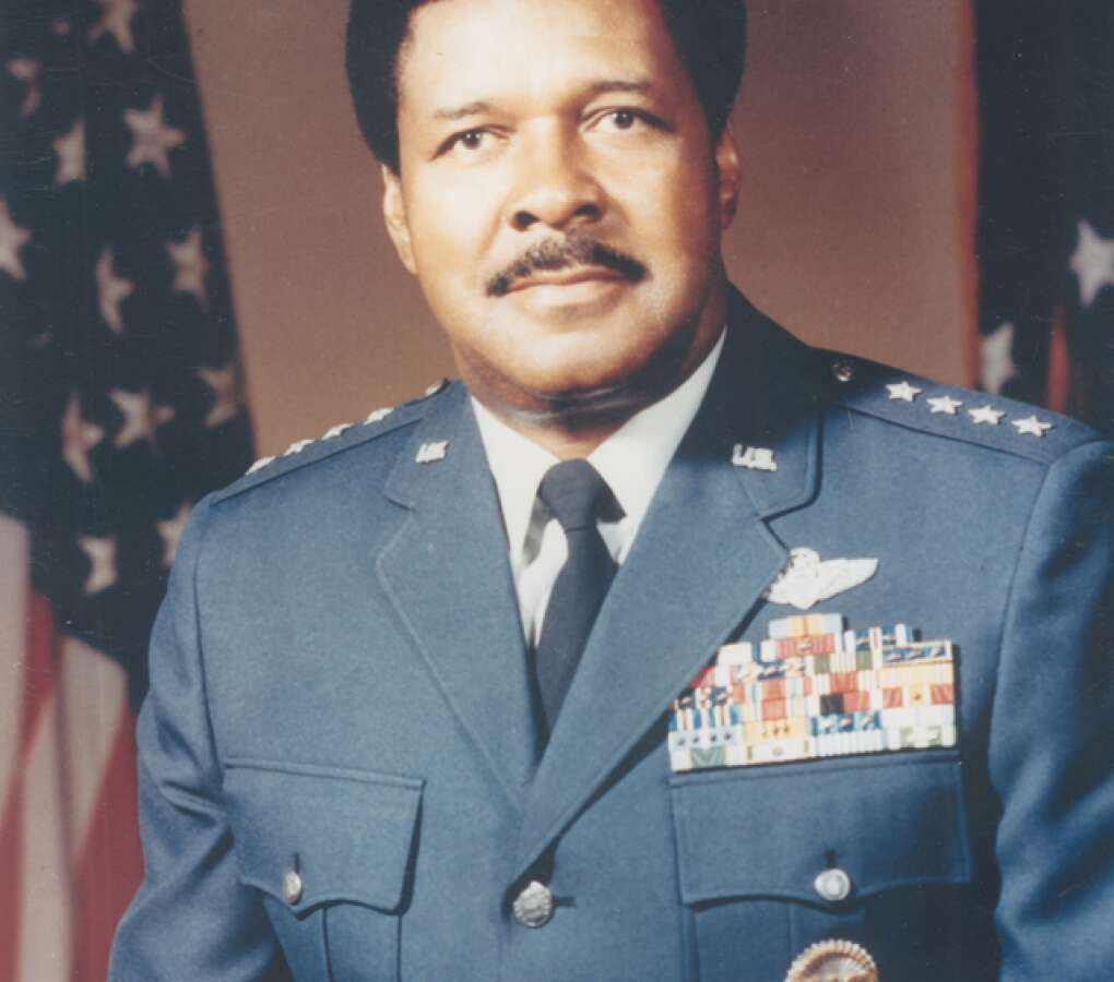 A Pensacola native, Chappie James became the first black four-star general in American military history in 1976.