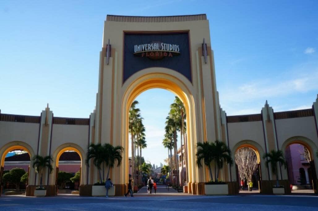 Florida Theme Parks in Winter - Universal Orlando