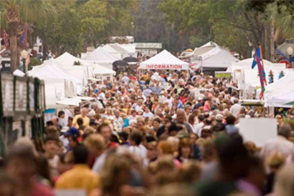 Florida Fall Activities - Mount Dora Craft Fair