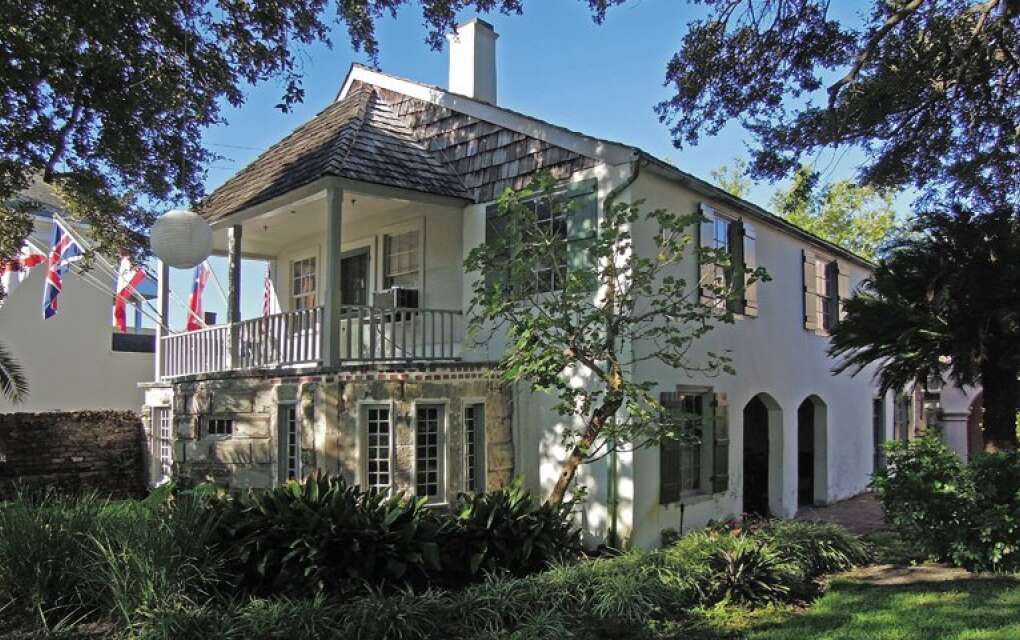 The Oldest House Museum Complex in St. Augustine, exterior