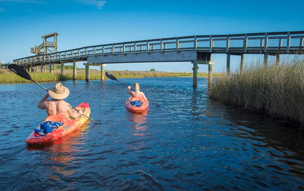 paddlers in Pensacola