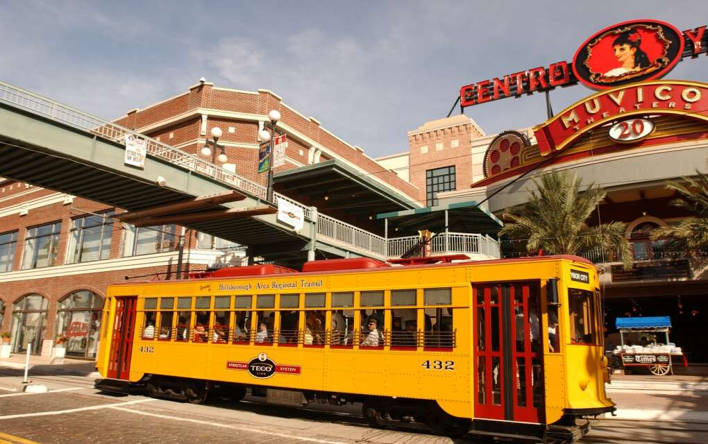 historic TECO streetcar