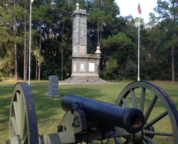 Cannon at Olustee
