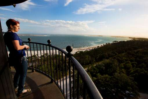 Soak in the view from the Pensacola Lighthouse
