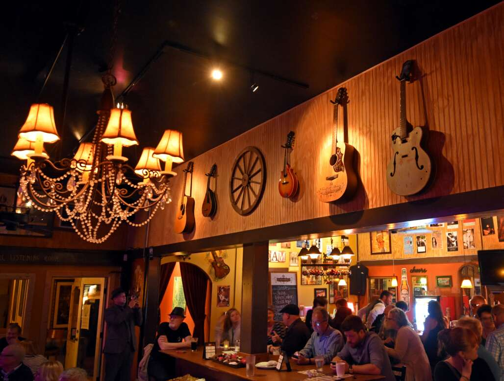 The Hideaway Cafe's offerings include food, drink and live music.
