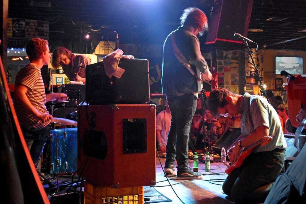 Crowbar is a 300-person venue on the corner of a brick street in Tampa's Ybor City. The venue has hosted everyone from violinist and composer Kishi Bashi to a surprise show by Grammy-nominated post-hardcore band Underoath.