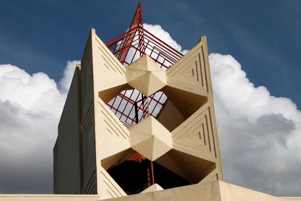 frank lloyd wright's architecture at Florida Southern College