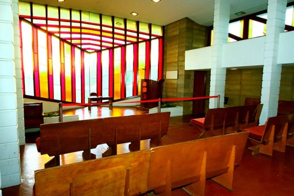 Pfeiffer Chapel on Florida Southern College