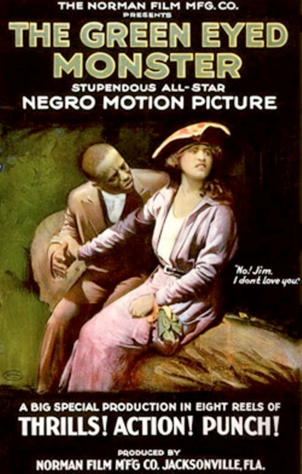 Poster of 'The Green Eyed Monster' motion picture
