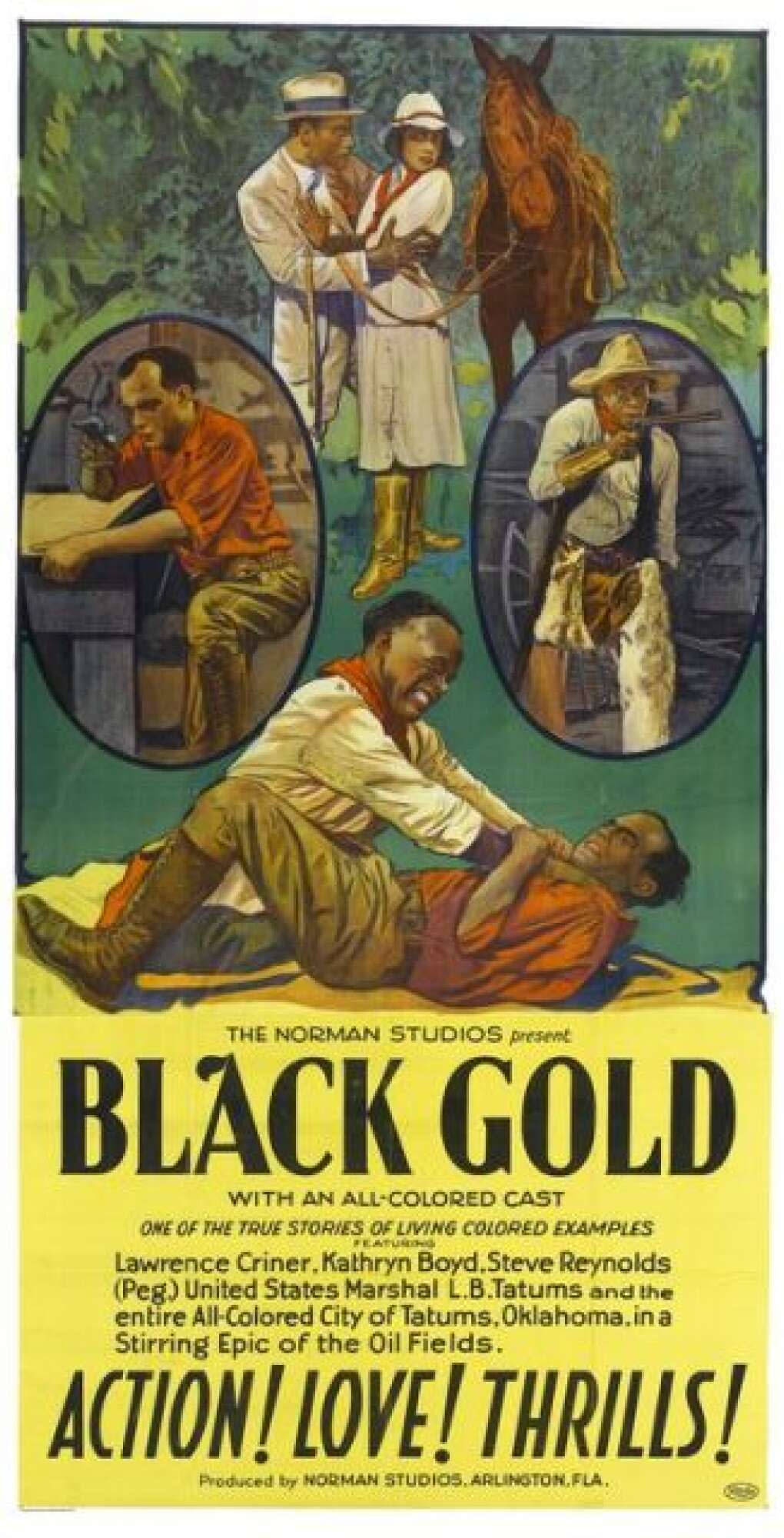 'Black Gold' Motion Picture Poster