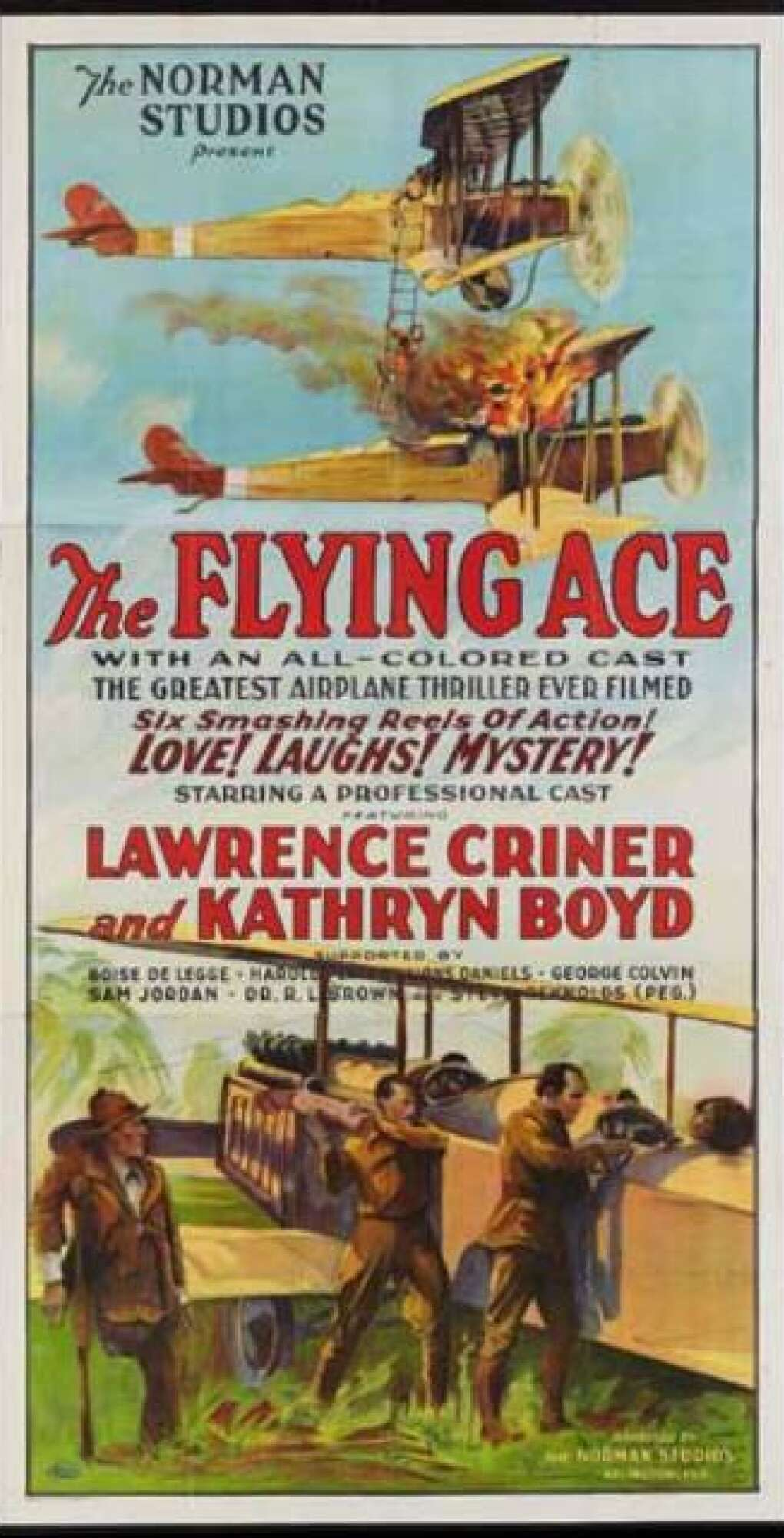'The Flying Ace' Movie Poster
