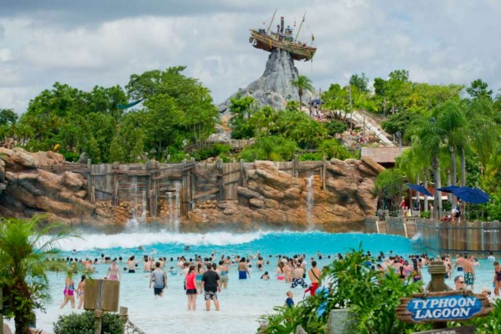 Family Water Park at Disney's Typhoon Lagoon