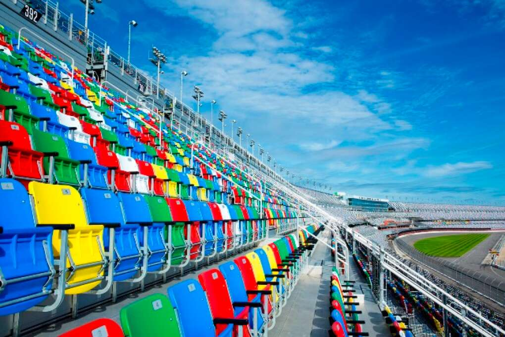 Daytona International Speedway seating