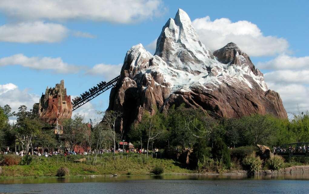 Expedition Everest mountain at Disney Animal Kingdom in Orlando