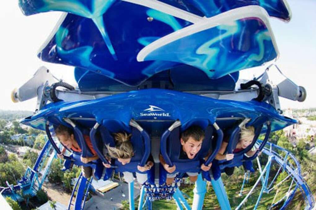 Theme park guide - Manta at SeaWorld Orlando
