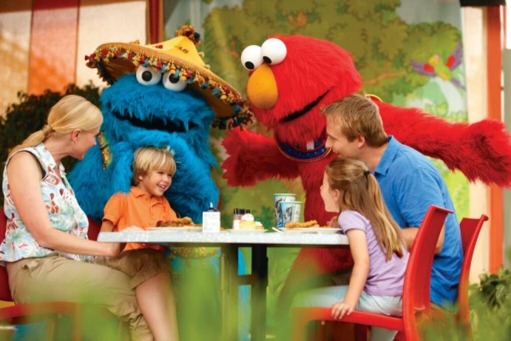 Meet your friends from Sesame Street