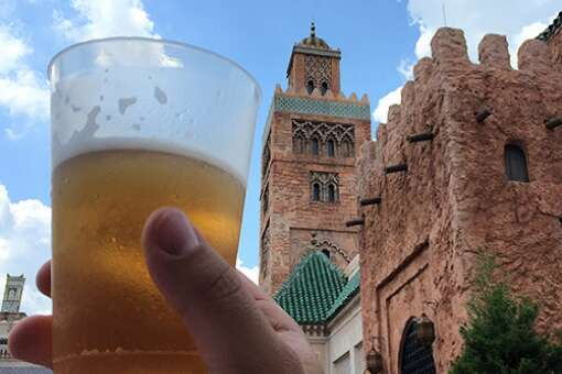 You can enjoy a selection of Mediterranean beers in Morocco