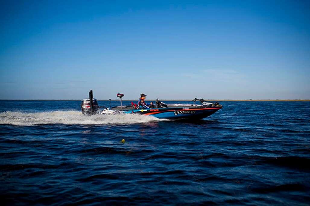 bass fishing on Lake Okeechobee