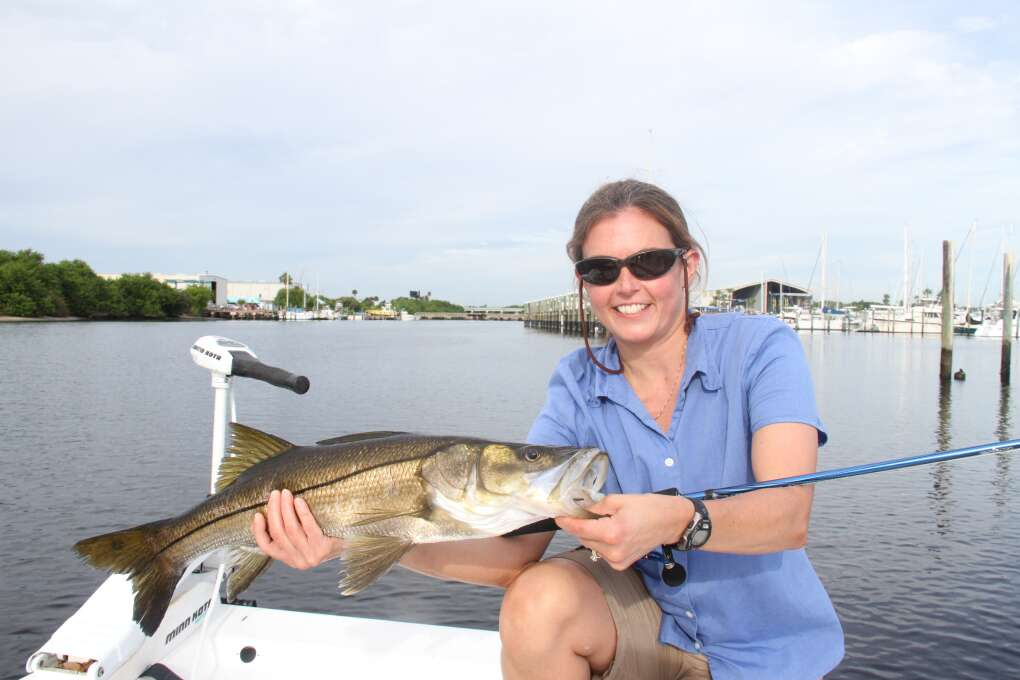 Snook are only indigenous to South Florida and a tiny sliver of the Texas coast.