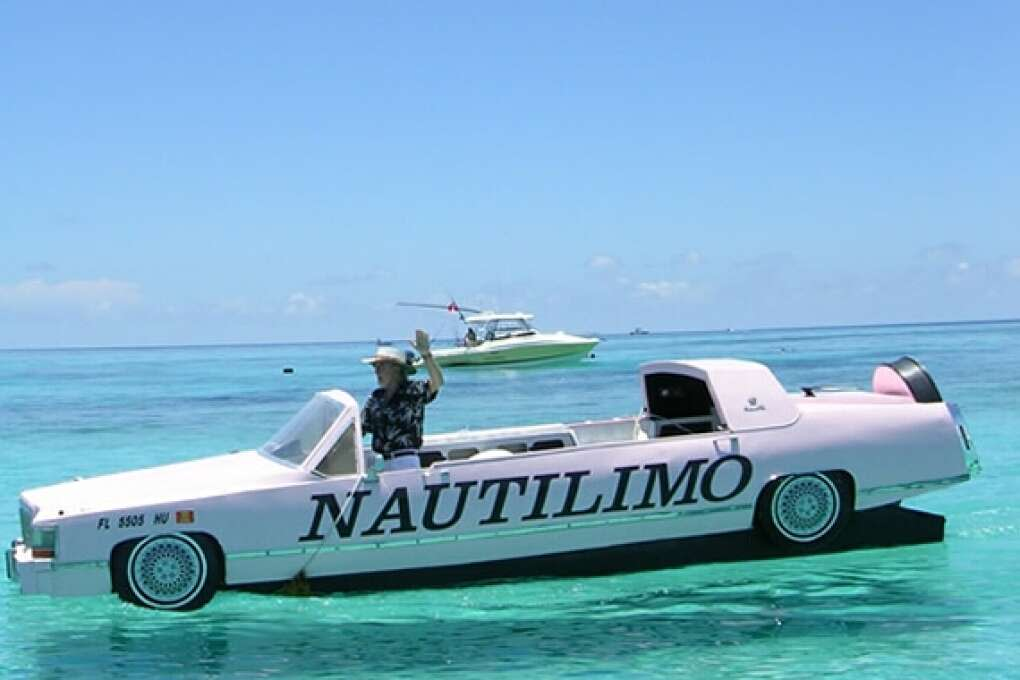 Joe Fox's NautiLimo in Islamorada takes up to six passengers on a unique cruise through the Florida Keys.