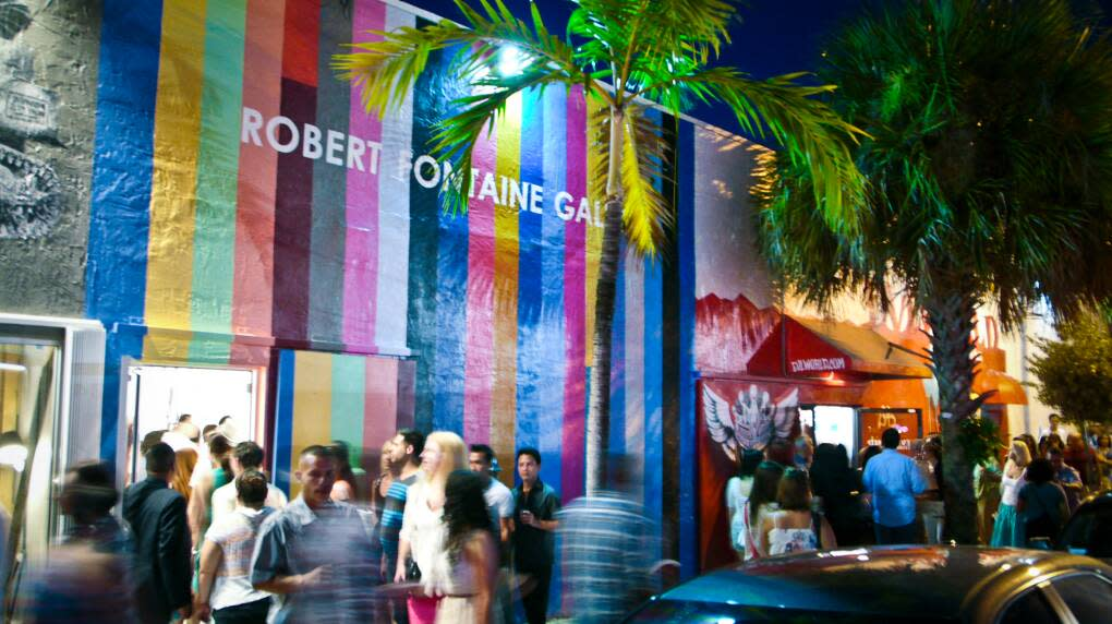 One of the most engaging and vibrant galleries along Miami's Wynwood Art Walk, the Robert Fountaine Gallery exhibits contemporary works from established and emerging artists.